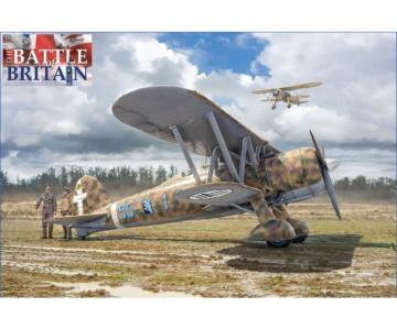 FiatCR.42 - Battle of Britain - 80thA. · IT 2801 ·  Italeri · 1:48