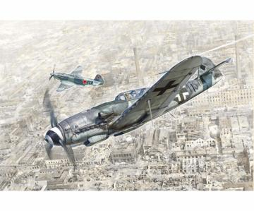 Messerschmitt BF109 K-4 · IT 2805 ·  Italeri · 1:48