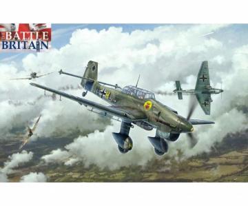 Junkers Ju 87B Stuka - Battle of Britain · IT 2807 ·  Italeri · 1:48