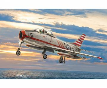 North American FJ-2/3 Fury · IT 2811 ·  Italeri · 1:48