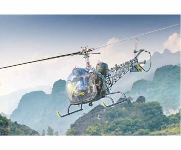 OH-13 Scout Helikopter Korea Krieg · IT 2820 ·  Italeri · 1:48
