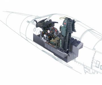 F-104G Cockpit · IT 2991 ·  Italeri · 1:12