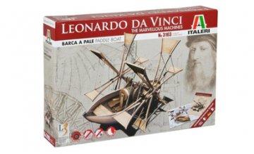 Da Vinci`s Helicopter Machine · IT 3103 ·  Italeri