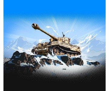 Pz.Kpfw.VI Tiger I - WoT - Fast assemble kit · IT 34103 ·  Italeri · 1:72