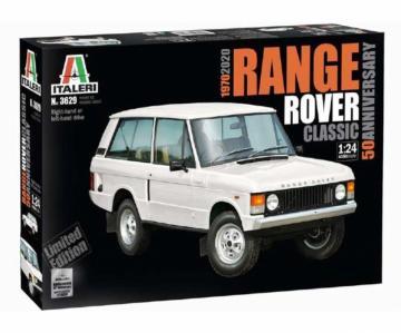 Range Rover Classic 50th Anniv · IT 3629 ·  Italeri · 1:24