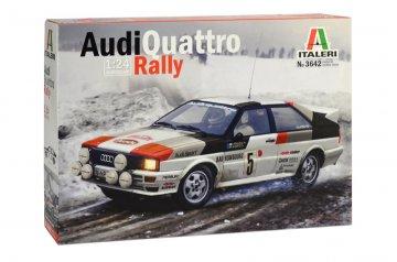 Audi Quattro Rally · IT 3642 ·  Italeri · 1:24