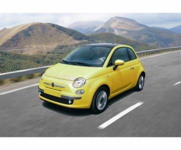 Fiat 500 (2007) · IT 3647 ·  Italeri · 1:24