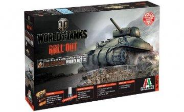 US M4 Sherman WoT - World of Tanks · IT 36503 ·  Italeri · 1:35