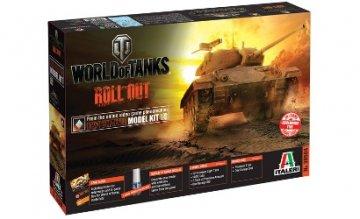 US M24 Chaffee WoT - World of Tanks · IT 36504 ·  Italeri · 1:35