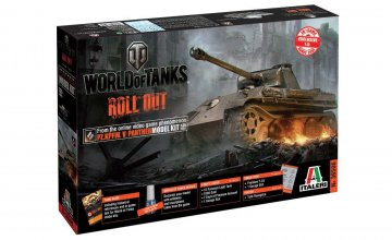 Panther Ausf. G WoT - World of Tanks · IT 36506 ·  Italeri · 1:35