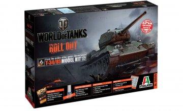 T-34 / 85 WoT - Word of Tanks · IT 36509 ·  Italeri · 1:35