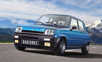 Renault 5 Alpine · IT 3651 ·  Italeri · 1:24