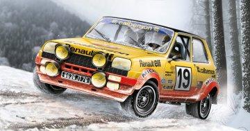 Renault R5 Rally · IT 3652 ·  Italeri · 1:24