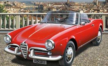 Alfa Romeo Giulietta Spider 1300 · IT 3653 ·  Italeri · 1:24