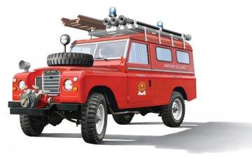 Land Rover Fire Truck · IT 3660 ·  Italeri · 1:24