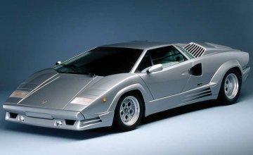 Lamborghini Countach 25th Anniv. · IT 3684 ·  Italeri · 1:24