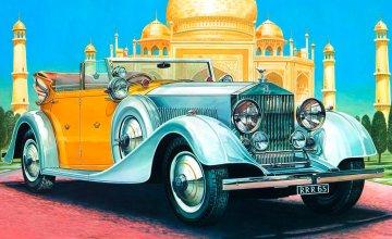 Rolls Royce Phantom II · IT 3703 ·  Italeri · 1:24