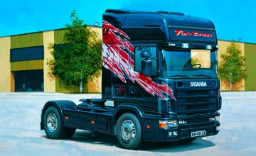 Scania Topclass 580V8 · IT 3819 ·  Italeri · 1:24