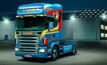 Scania R 580 V8 · IT 3829 ·  Italeri · 1:24