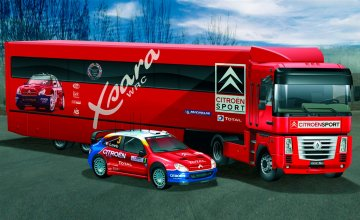 Citroen WRC 2004 Racing Team · IT 3830 ·  Italeri · 1:24