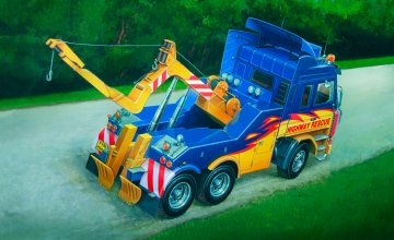 Scania 143R Wrecker Truck · IT 3838 ·  Italeri · 1:24