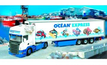 Scania R620 & Semi Frigo `Ocean' Express` · IT 3852 ·  Italeri · 1:24