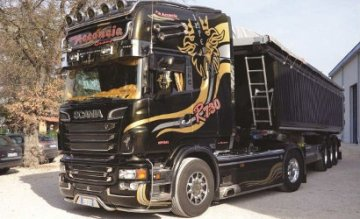 Scania R730 V8 Topline Imperial · IT 3883 ·  Italeri · 1:24