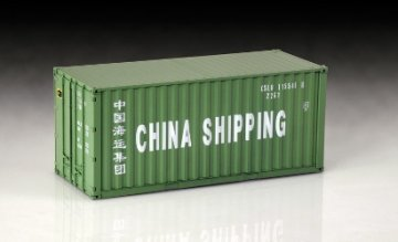 Shipping Container 20FT · IT 3888 ·  Italeri · 1:24