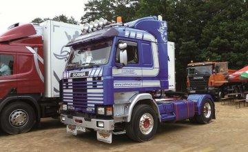 Scania 143m Topline 4x2 · IT 3910 ·  Italeri · 1:24