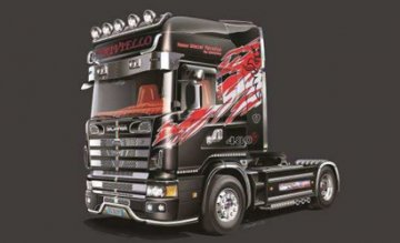Scania 164L Topclass · IT 3922 ·  Italeri · 1:24