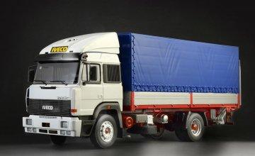 IVECO Turbostar 190.42 Canvas Truck · IT 3939 ·  Italeri · 1:24