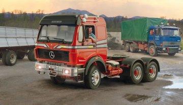 Mercedes-Benz 2238 6x4 · IT 3943 ·  Italeri · 1:24