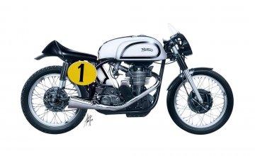 Norton Manx 500cc 1951 · IT 4602 ·  Italeri · 1:9