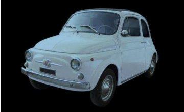 Fiat 500F (1968 version) · IT 4703 ·  Italeri · 1:12