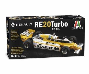 Renault RE 20 Turbo · IT 4707 ·  Italeri · 1:12
