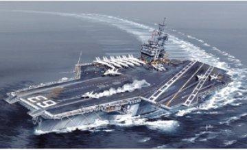 USS Kitty Hawk CV-63 · IT 5522 ·  Italeri · 1:720