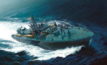 Elco 80 Torpedo Boat PT-596 · IT 5602 ·  Italeri · 1:35