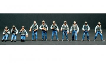 Figuren-Set Crew (10) ELCO 80 PT · IT 5606 ·  Italeri · 1:35