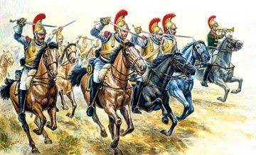 French Cavalry · IT 6003 ·  Italeri · 1:72