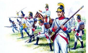 Österr. Infanterie Nap. Krieg · IT 6005 ·  Italeri · 1:72