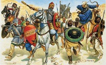 Saracen Warriors · IT 6010 ·  Italeri · 1:72