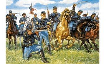 Union Cavalry · IT 6013 ·  Italeri · 1:72