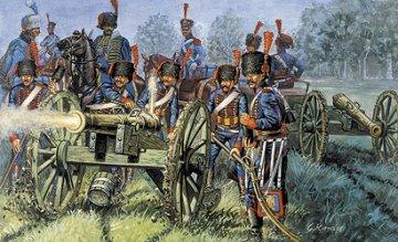 French Line / Guard Artillery · IT 6018 ·  Italeri · 1:72
