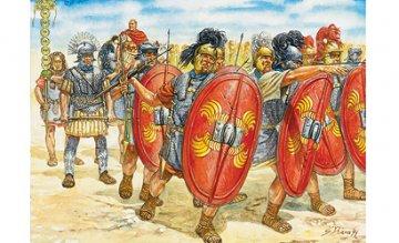 Roemische Infanterie · IT 6021 ·  Italeri · 1:72