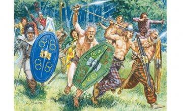 Gallische Krieger · IT 6022 ·  Italeri · 1:72