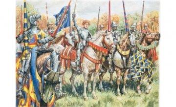 French Warriors (100 Years War) · IT 6026 ·  Italeri · 1:72