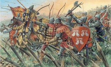 100 Years War - English Knights · IT 6027 ·  Italeri · 1:72