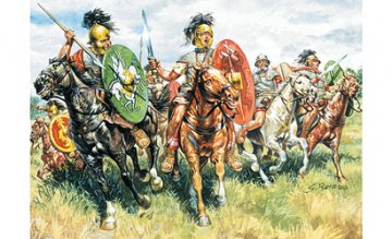 Roman Cavalry · IT 6028 ·  Italeri · 1:72