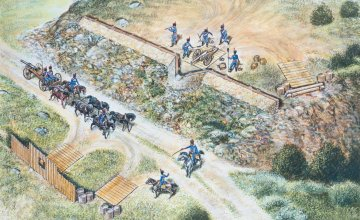 Französisches Artillerie-Set · IT 6031 ·  Italeri · 1:72