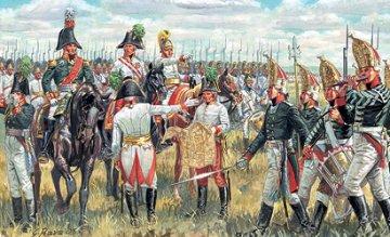 Austrian + Russian Allied Gen. Staff (Nap. Wars) · IT 6037 ·  Italeri · 1:72